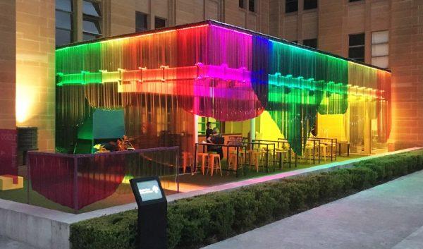 Colour Fields Pop-up Bar at MCA