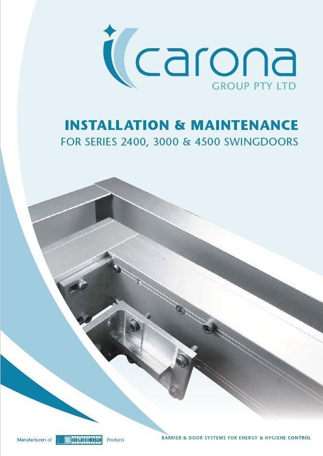 Swing door Installation-Manual